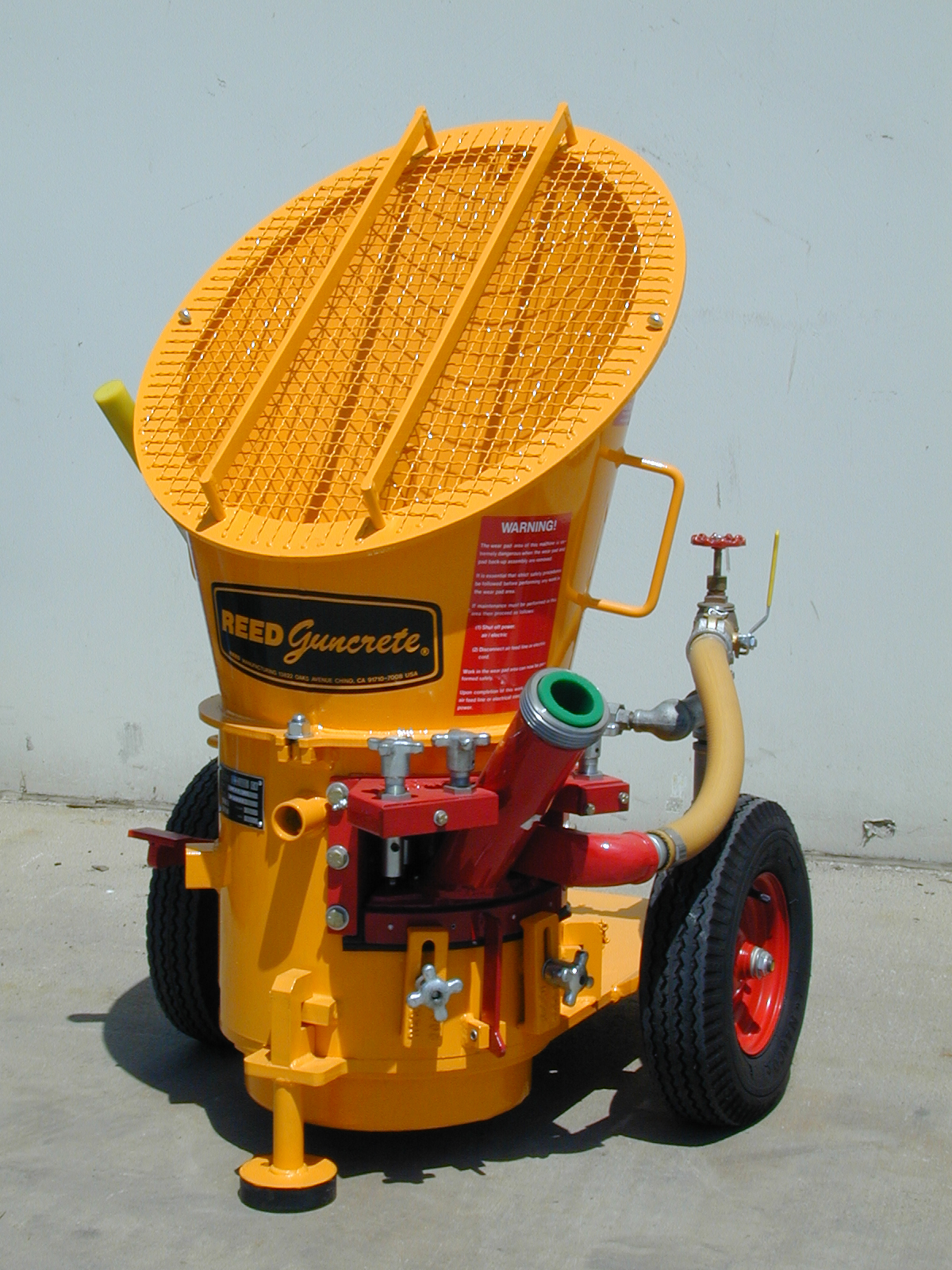 reed lova gunite machine
